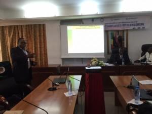 Le Point Focal AfricaInteract pour l'Afrique Centrale Présente le Projet et les résultats obtenus dans la sous région